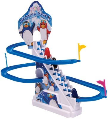 A R enterprises Battery Operated Penguin Race Track(Multicolor)