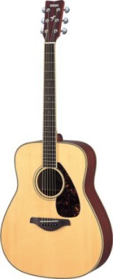 Yamaha Folk Acoustic Guitar with Mahogany Back and Sides Natural Multicolor  available at Flipkart for Rs.58246