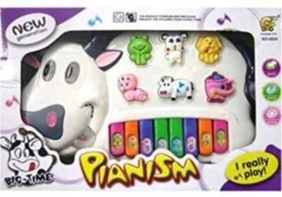 Dinoimpex Musical Cow Piano Keyboard Toy Game