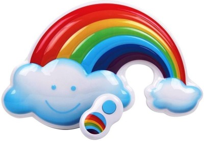 GoMerryKids Lights And Sound Pretty Rainbow Fun Kids Room Decoration With Remote Control