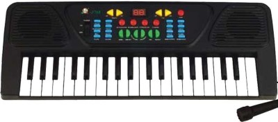 Gift World 37 KEYS MUSICAL ELECTRONIC KEYBOARD PIANO WITH MIC MELODY MIXING TOYS FOR KIDS(Multicolor)