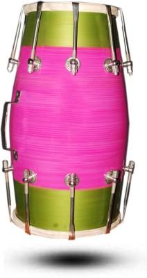 Gajraula Crafts Multicolor Dholak