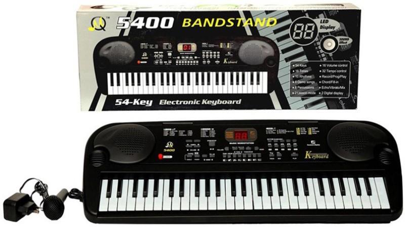 Meher Enterprises 54 Keys Black Electronic Piano (5400)(Black)