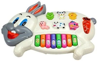 Shop & Shoppee Musical Rabbit Educational Piano Keyboard Toy