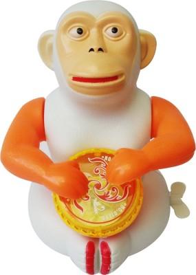 Abhika Studio Monkey Drum Toy