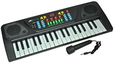 MK Melody Electronic Musical Keyboard 37 Keys Piano With Mic(Black, White)
