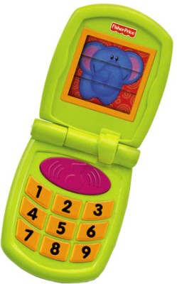 Fisher-Price Growing Baby - Fun Sounds Flip Phone