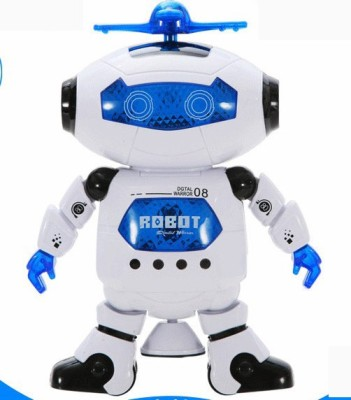 Happy Kids 360 DEGREE DANCING ROBOT WITH MUSIC AND LED LIGHTS