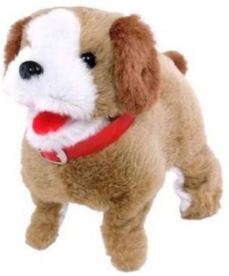 zaprap Puppy Battery Operated musical Jumping Dog(brown)