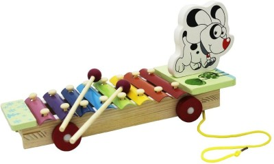 Shopaholic Cute Dog Xylophone