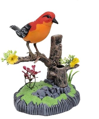 China Heartful Musical Bird Sound Activated Toy with Pen Stand