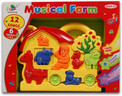 Dinoimpex Beautiful Musical Farm With Funny Animal Songs
