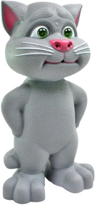 SJ 12 inch Talking Back Tom with Touch Function Cat