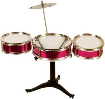 Tara Lifestyle Jazz Drum Sets For Kids Pink