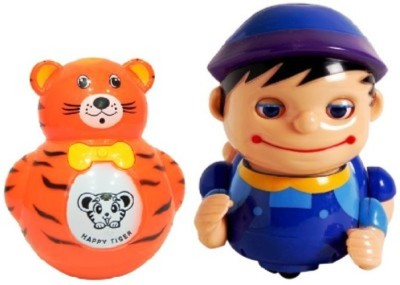 Turban Toys Musical Naughty Baby Boy with Roly Poly toy for kids