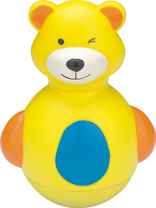Funworld Teddy Roly Poly(Yellow)