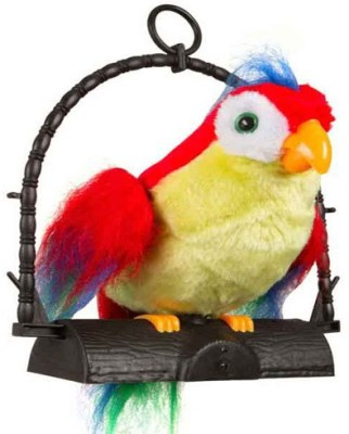 AQUARAS TALKING PARROT(Multicolor)