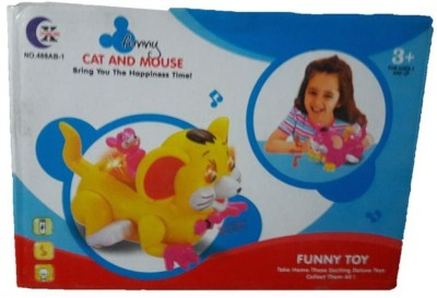 OZ FUNNY CAT & MOUSE