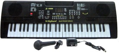 V.T. 54-Keys Electronic Keyboard with Microphone and Led Display Music Box