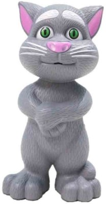 MousePotato Touch and Talk Tom Cat Toy Repeating Recorded Words and Play Music