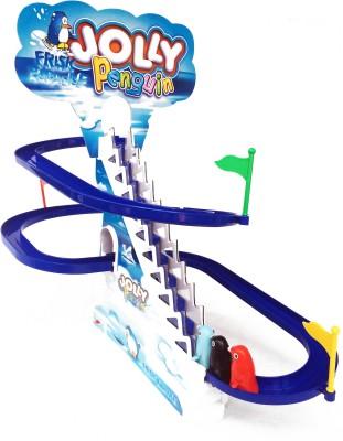 Kbnbs Jolly Penguin Slide Musical Toy