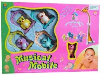 Turban Toys Bird Shaped Musical Mobile Cuddle Jhummer(Multicolor)