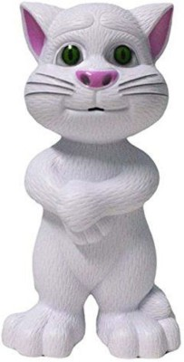Happiesta Intelligent touching Tom Cat(White)