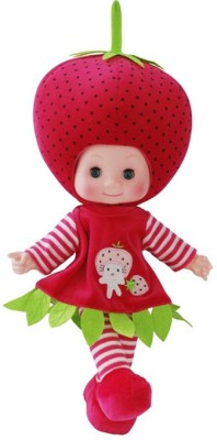 AV Shop Strawberry Fruit Talking Stuffed Doll Toy