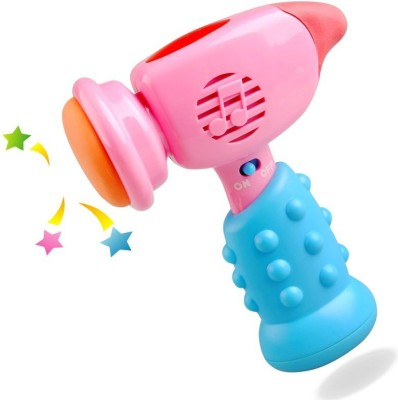 Baby World Non Toxic Musical Hammer Toy(Multicolor)
