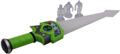 Happiesta B/o Ben 10 Sword with 3 Alien figures(Multicolor)