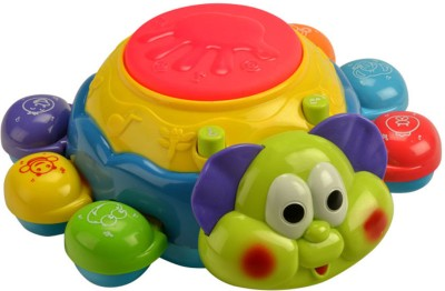 MeeMee Colourful Bubbly Beetle-musical Toy