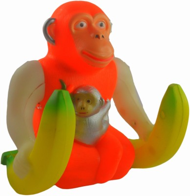 Shop4everything King kong monkey with 360 degree rotation and music