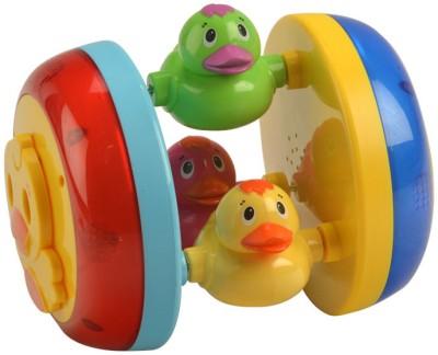 MeeMee Cheerful Duck Wheel-musical Toy