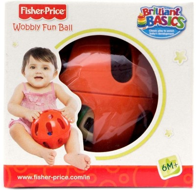 Fisher-Price Wobbly Fun Ball - Red