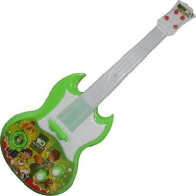 New Pinch Rockband Musical Guitar for Kid Battery Operated With Pop Music Fetching Light and Sound(Multicolor)