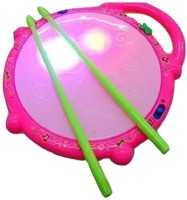 Little Grin Flash Light Drum With Music For Kids(Multicolor)