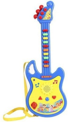 Smiles Creation Battery Operated Musical Guitar(Multicolor)