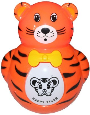 Turban Toys Baby Tumbler Music Animal Roly-Poly Toy