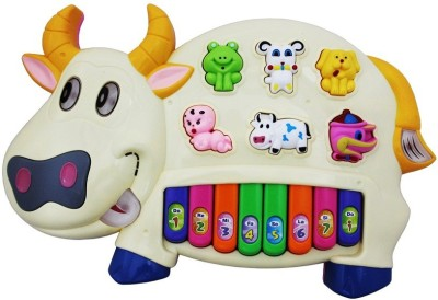 Shopaholic New Generation Kids Piano - Cow