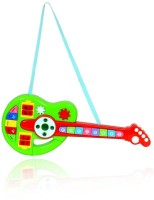 Planet of Toys Educational Interactive Cartoon Musical Guitar(Multicolor)