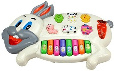 Shopat7 Wonderful Rabbit Musical Piano