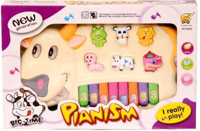 Homeshopeez Toy Musical Cow Piano