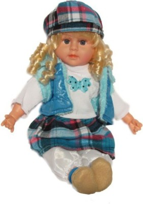 Rahul Toys Musical Poem Doll For Kids In Diffrent Colors