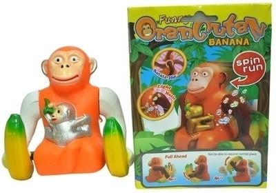 Toyzstation Musical Banana Monkey