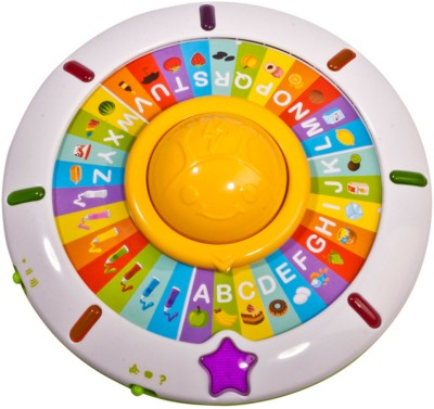 MeeMee Spinning ABC Game(Multicolor)