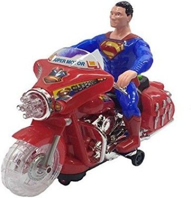 Darling Toys Superman Musical Speed Motorbike