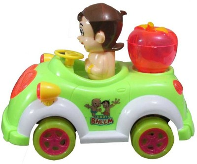 Turban Toys Chhota Bheem Musical Car