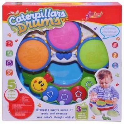 Homeshopeez Caterpillars Musical Drum