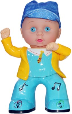 Scrazy Littile Apple Smart Boy With Music Light and Dancing
