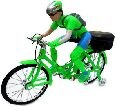NDS Ben10 Battery Operated Foldable Bicycle For Kids(Green)
